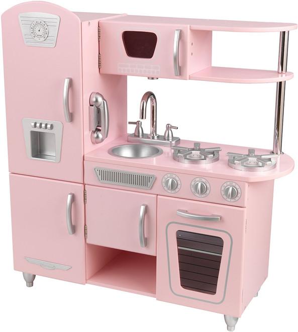 kidkraft pink vintage kitchen