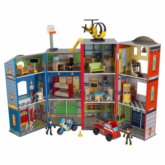 Kidkraft Everyday Heroes Police And Fire Station