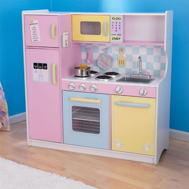 kidkraft large pastel kitchen 53181