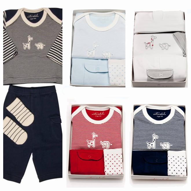 emotion and kids safari baby clothing gift set