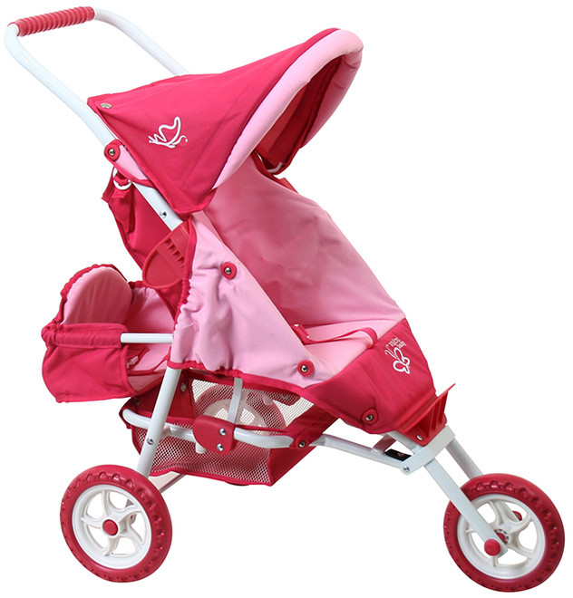 mini marathon with toddler seat butterfly pink