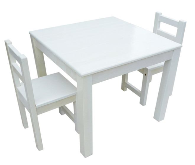 b602891986c QToys Eco-Friendly White Table   Chair Set for Kids on Sale! Fast ...