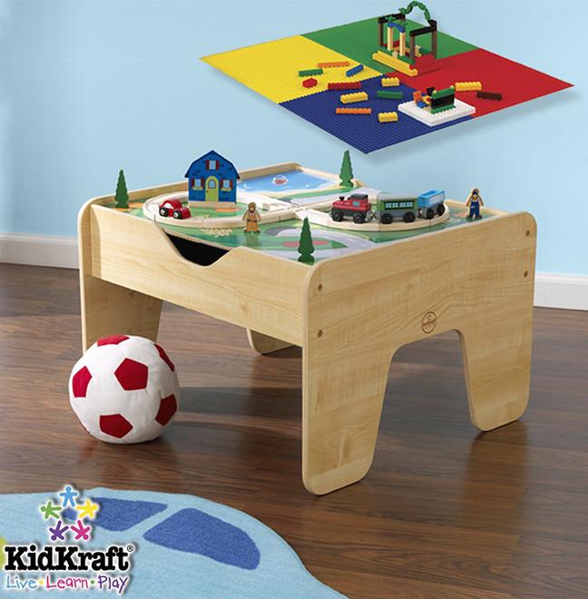 kidkraft 2 in 1 lego activity table