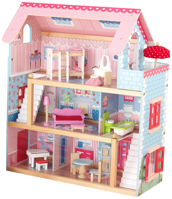 Kidkraft Chelsea Doll Cottage On Sale Now Fast Shipping Australia Wide