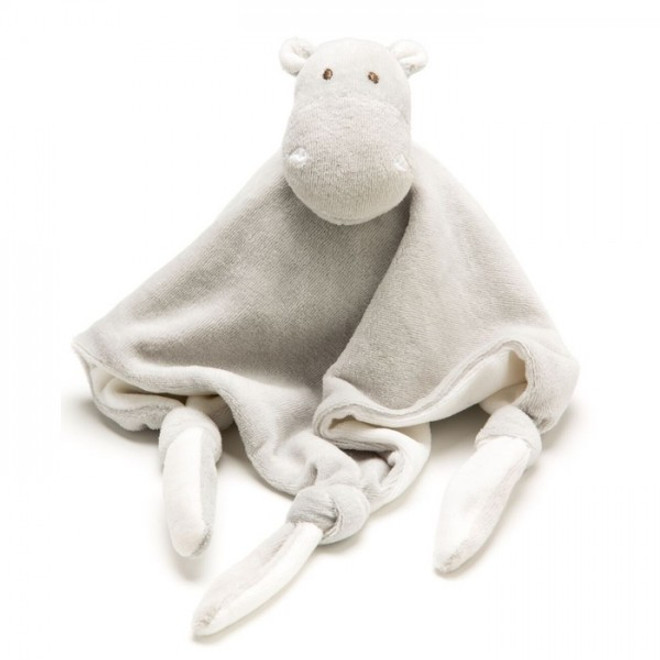 emotion and kids grey hippo comforter blanket dou dou
