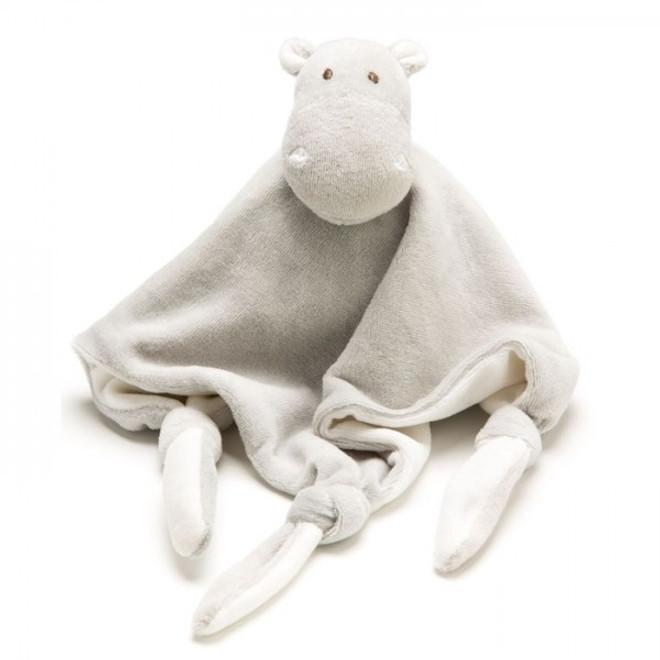 emotion and kids grey hippo comforter blanket dou dou