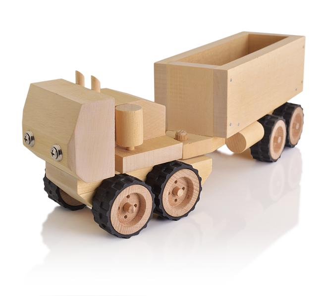 buildme build it yourself toy truck