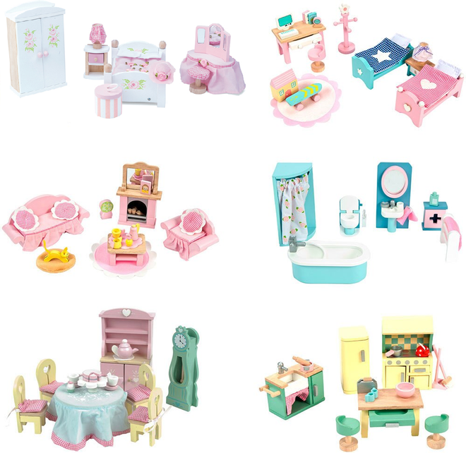 Le Toy Van Daisy Lane Doll Furniture Sets On Sale Full Range Here