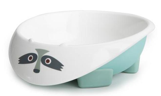 My Natural Eco Bowl - Light Blue Raccoon
