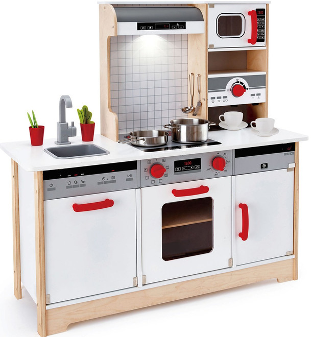 Brilliant Hape Delicious Memories Wooden Play Kitchen Download Free Architecture Designs Lectubocepmadebymaigaardcom