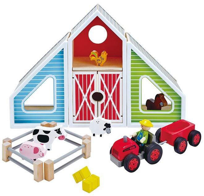 Hape Barn Play set