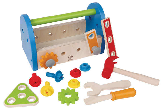 Awesome Hape My First Tool Box On Sale Save On Kids Workbench Tools Uwap Interior Chair Design Uwaporg