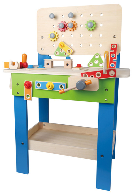 Superb Hape My Giant Work Bench On Sale Save On Kids Workbench Frankydiablos Diy Chair Ideas Frankydiabloscom