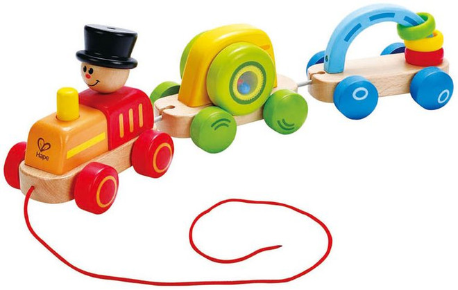 Hape Triple Play Train