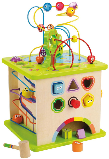 Hape Country Critters Play Cube Activity Centre