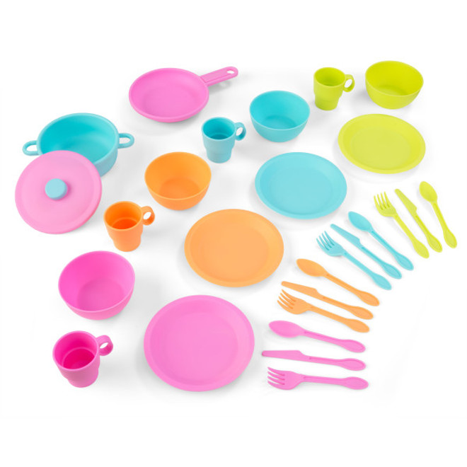 27 PC Bright Cookware Set Kidkraft