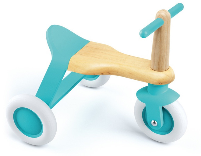 Djeco Blue Roll'it Ride On Toy