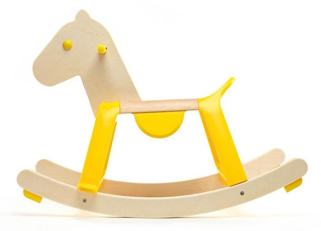 Djeco Yellow Rock'it Rocking Horse