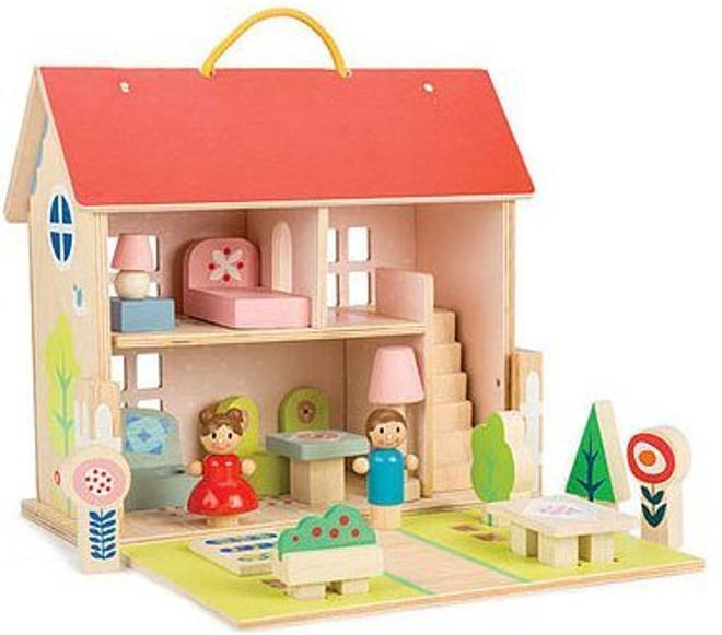 tenderleaf portable dolls house