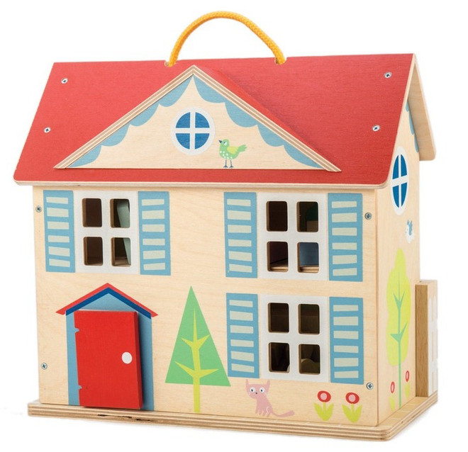 Tenderleaf Doll Cottage With Furniture On Sale Fast Dispatch
