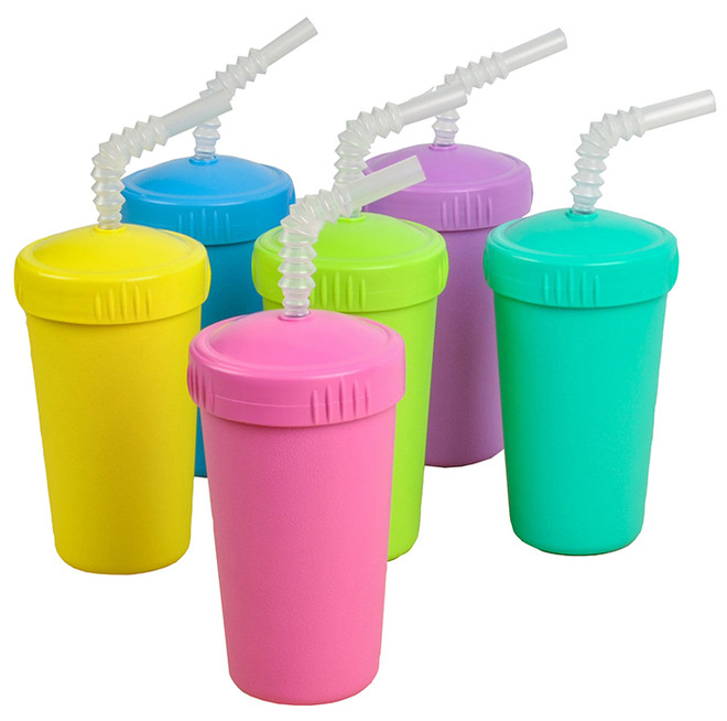 re-play straw kids cups