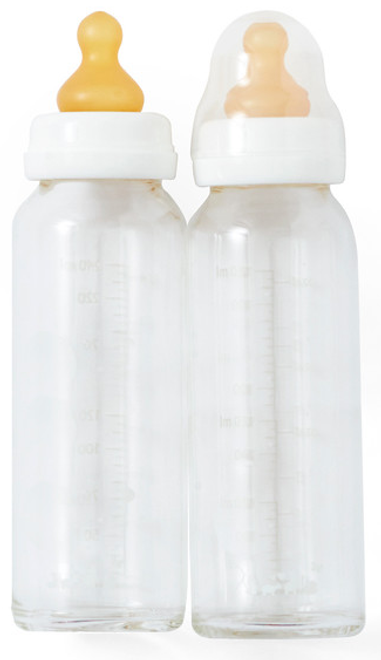 hevea glass bottles 240ml