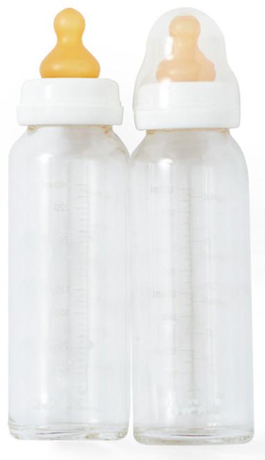 hevea glass bottles 240ml