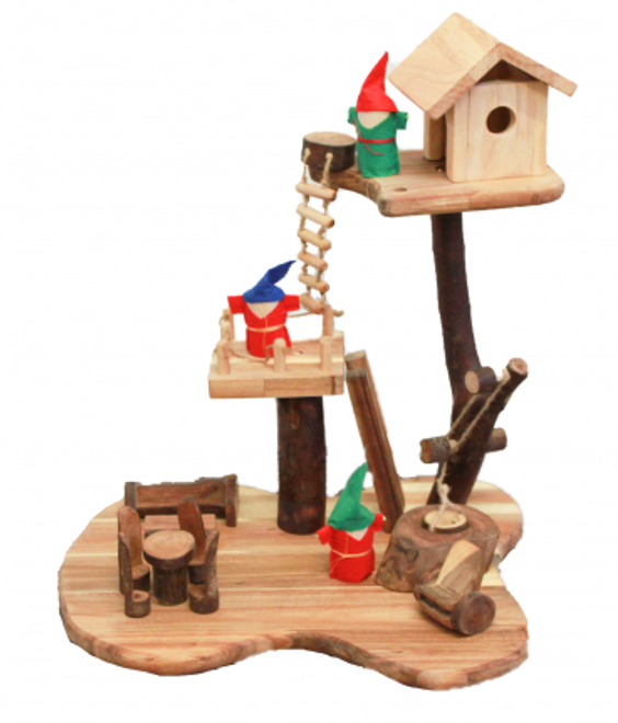 Qtoys Tree House - set