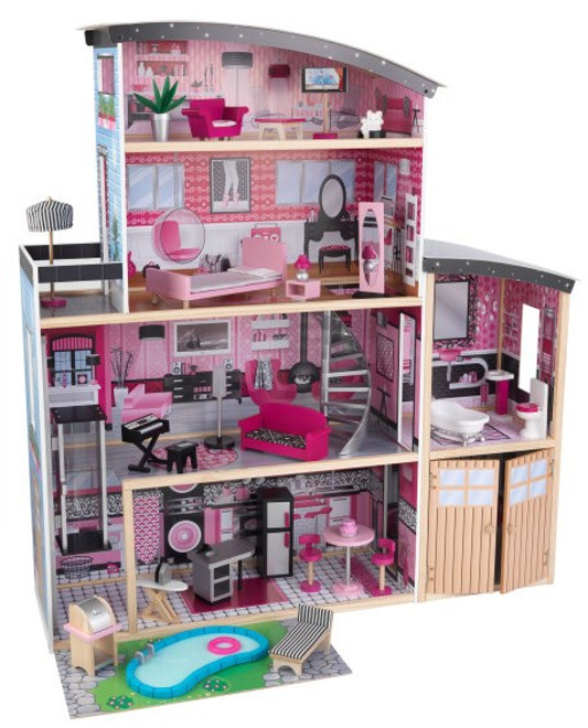 KidKraft Sparkle Mansion Dollhouse Set