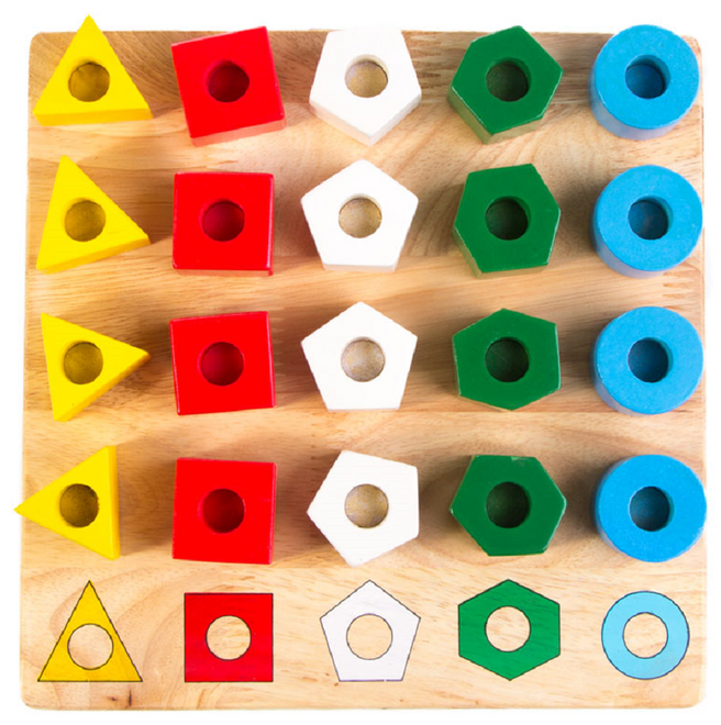 Qtoys Stacking Pegs