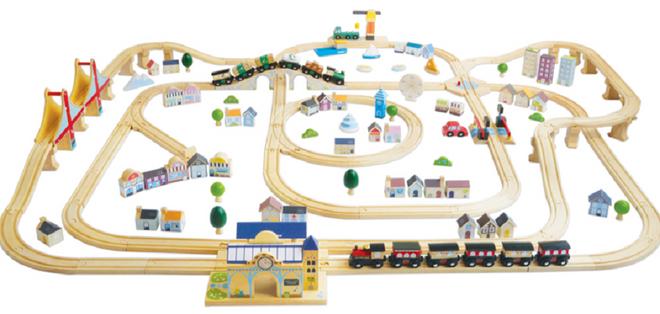 Le Toy Van Royal Express Train Set