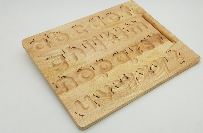 Qtoys Lower case Letter Tracing board