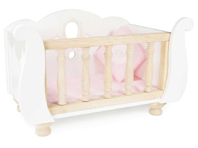le toy van wooden cot