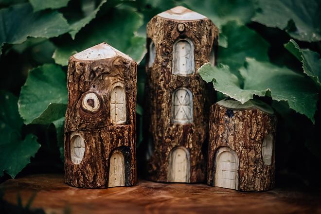 Qtoys Tree Houses set of 3