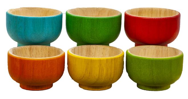 Qtoys Rainbow sorting Bowls