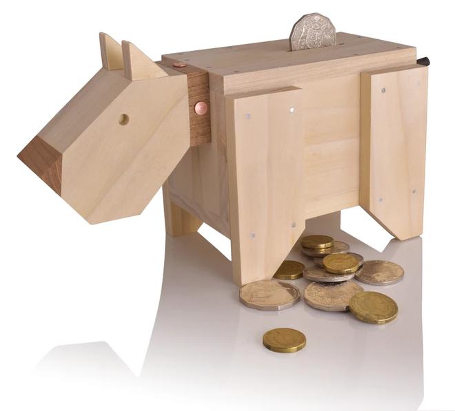 build me dog moneybox construction kit
