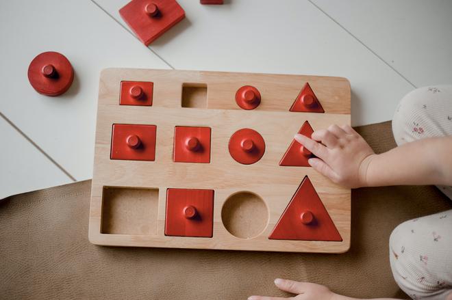 Toddler Knob Shape Puzzle