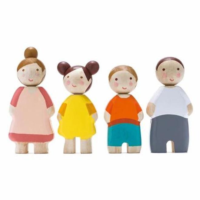 Tender Leaf Toys Wooden Family of Four