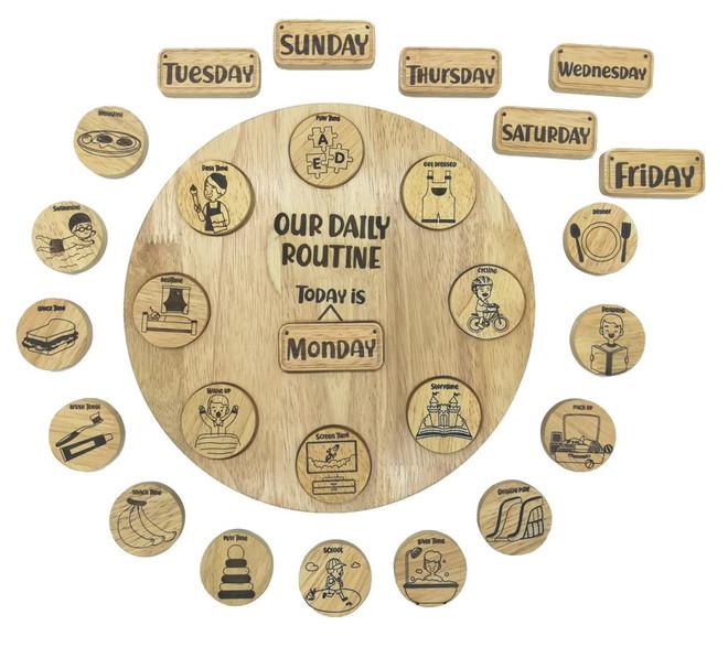 Qtoys Daily Routine Circle 1