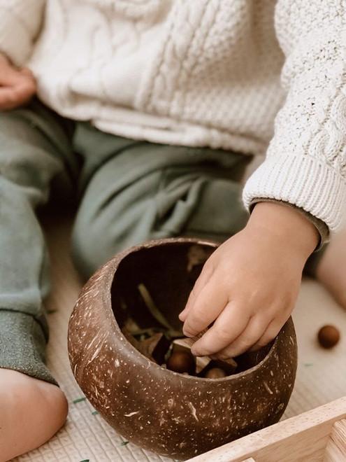 Qtoys Coconut Sensory Box
