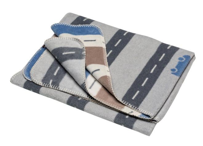 David Fussenegger Grey Streets Mila Cot Blanket