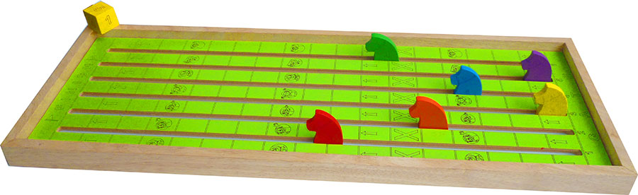 Wooden Horse Racing Game Fast Shipping