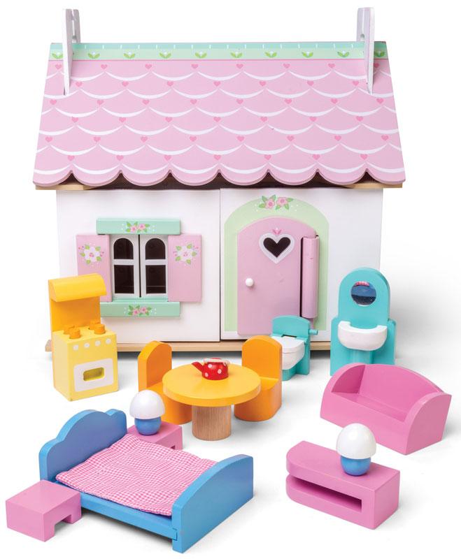Le Toy Van Lily S Cottage Dollhouse On Sale Fast Australia Wide