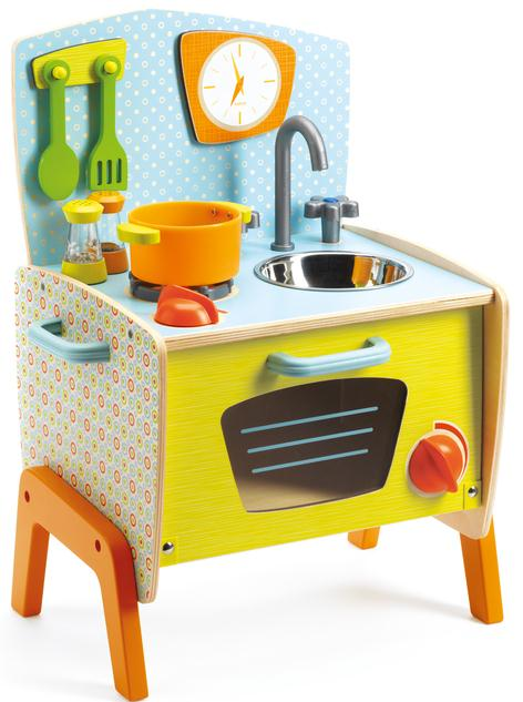 Gaby S Mini Cooker Kitchen Set Djeco Wooden Toys