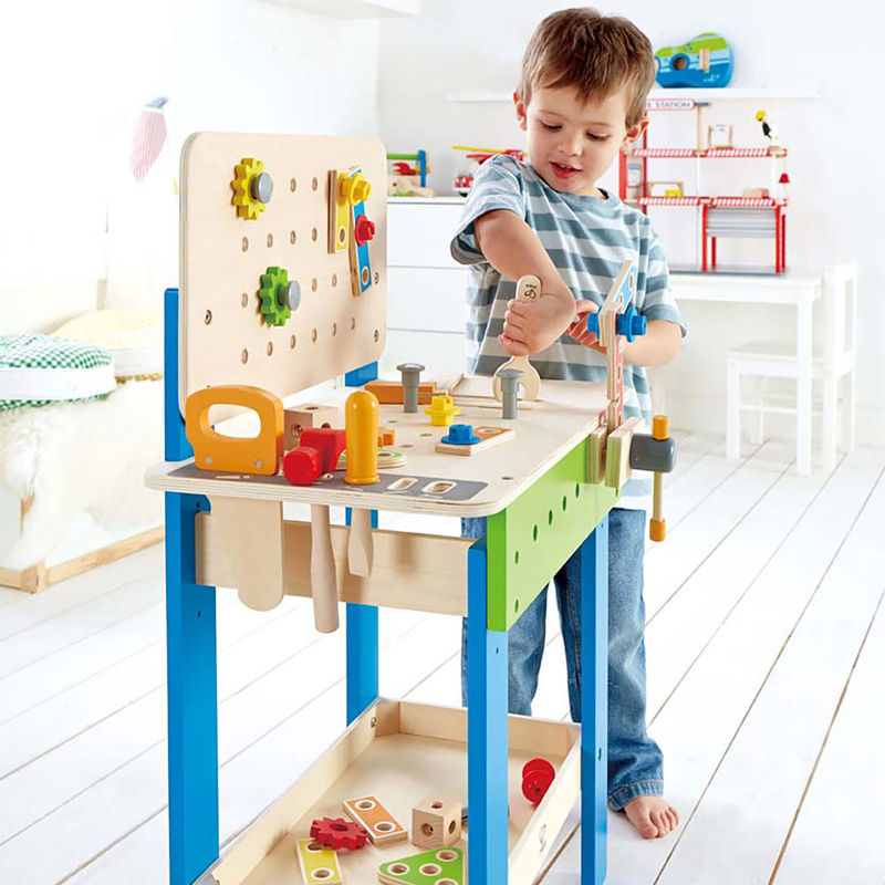Remarkable Hape My Giant Work Bench On Sale Save On Kids Workbench Frankydiablos Diy Chair Ideas Frankydiabloscom