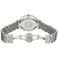 Emporio Armani AR1819 Classic Silver Dial Stainless Steel Mens Watch