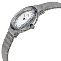 Skagen 456SSS Leonora Swarovski Crystal Stainless Steel Mesh Womens Watch