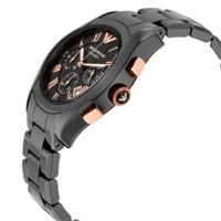 Emporio Armani AR1410 Ceramica Black Chronograph Mens Watch