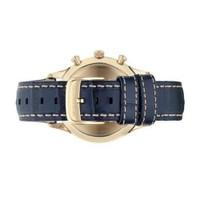 Emporio Armani AR1862 Classic Chronograph Blue Leather Mens Watch