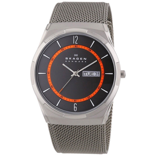 Skagen SKW6007 Melbye Multifunction Titanium Mesh Mens Watch